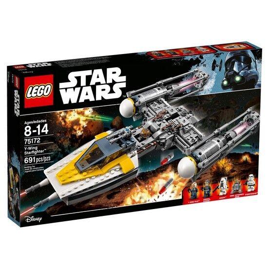 LEGO STARWARS Y-Wing Starfighter è 75172/691 Pezzi Puzzle/oltre 8 anni/Bla
