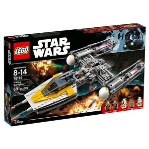 LEGO-Starwars-Y-wing-Starfighter-75172-691-Puzzle-Pieces-Over-8-years-Buil