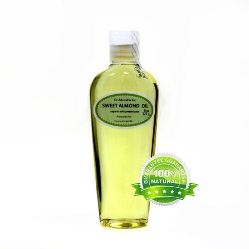 Sweet Almond Oil Pure&Organic Moisturizing Oil Promote Healthy Skin FreeShipping