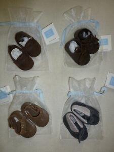 Janie-and-Jack-CRIB-SHOES-Baby-Boys-Grey-Dress-Boot-Crib-Shoe-NWT-Autumn-Warmth