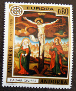 Fr.andorra Sc236thecrucification-16th Cent.europa'74mnh Art Topical Stamps