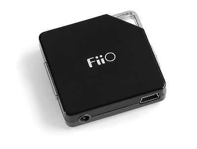 New FiiO E 6 Earphone Headphone Portable Amplifier E6 w/USB Rechargeable Battery