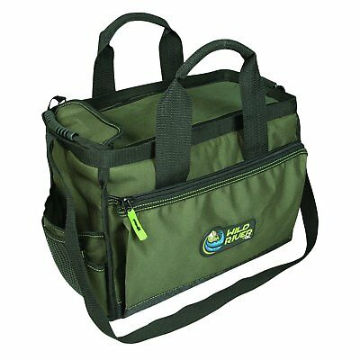 Fishing Wild River Multi-tackle Closed Top Fresh Salt Water Fishing & Range Bag 6b8 Smoothing Circulation And Stopping Pains
