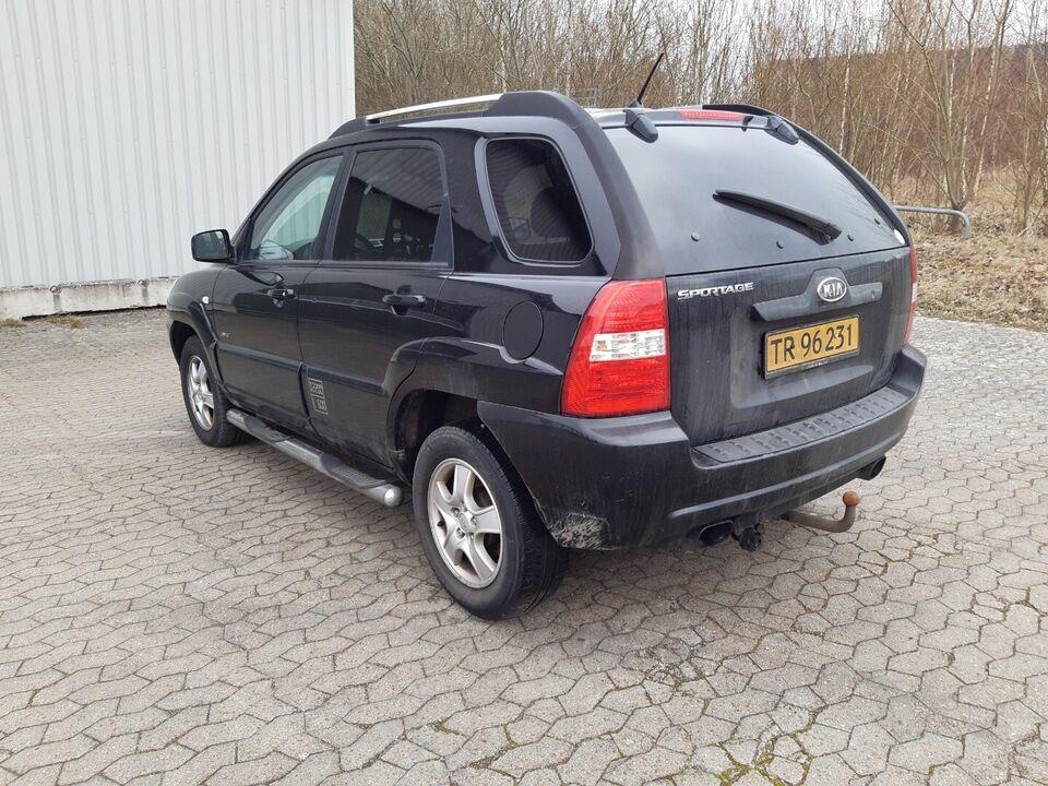 Kia Sportage 2,0 CRDi EX aut. Van Diesel aut. Automatgear