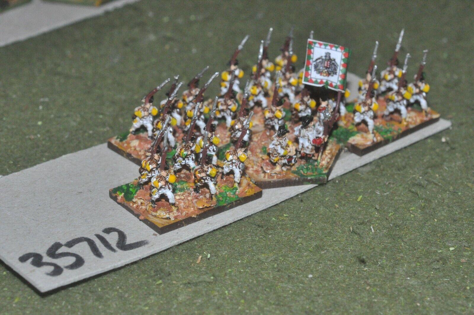 10mm 7YW   austrian - regiment 30 figures - inf (35712)