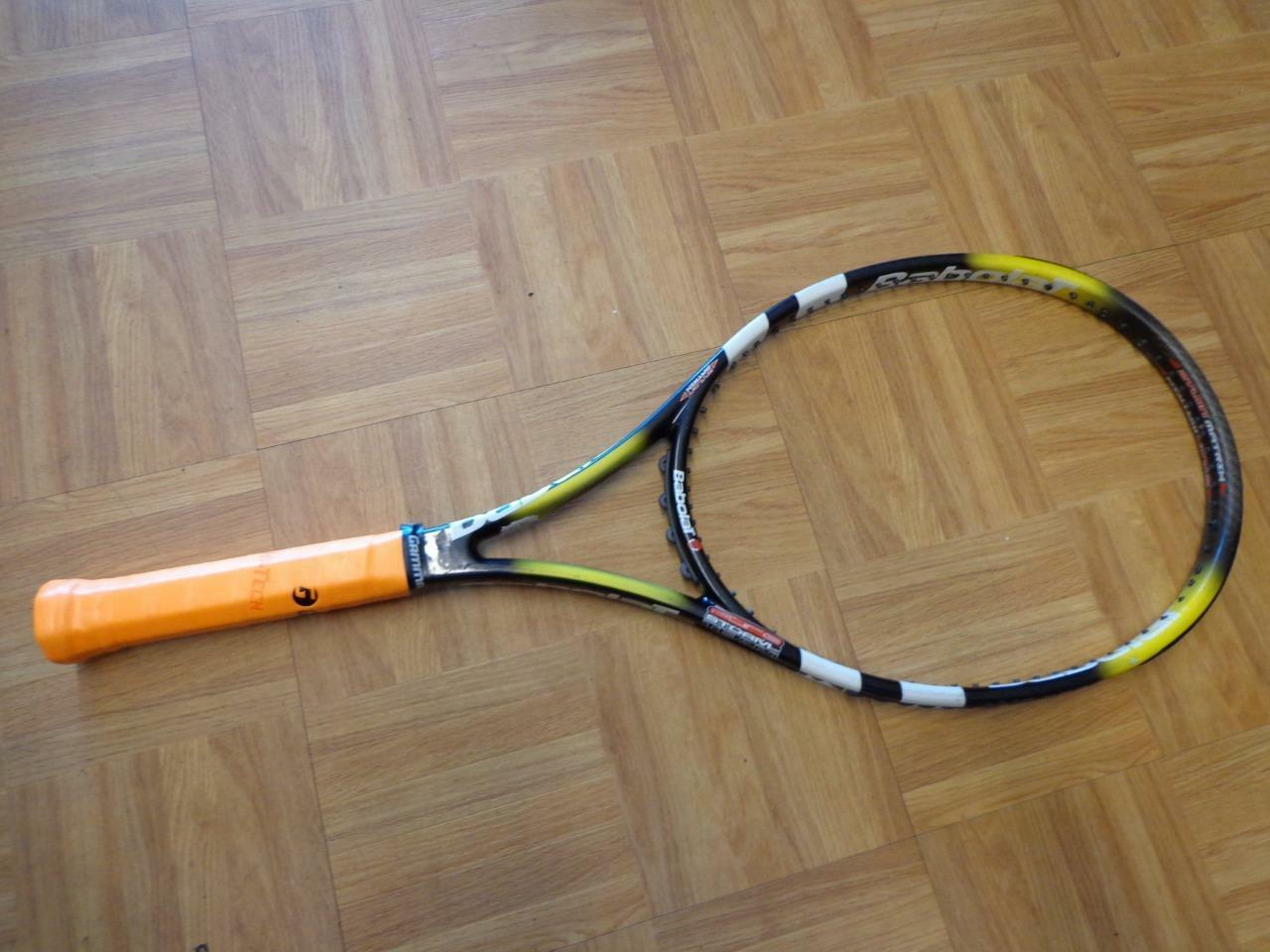 Babolat Pure Storm Zylon de tan 103 cabeza 4 3 8 Grip Tenis Raqueta
