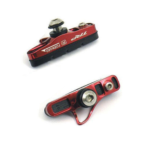TRP Inplace Ultra Lightweight Brake Shoes and Pads - Red