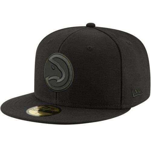 New Era 59Fifty Cap NBA BLACK Atlanta Hawks