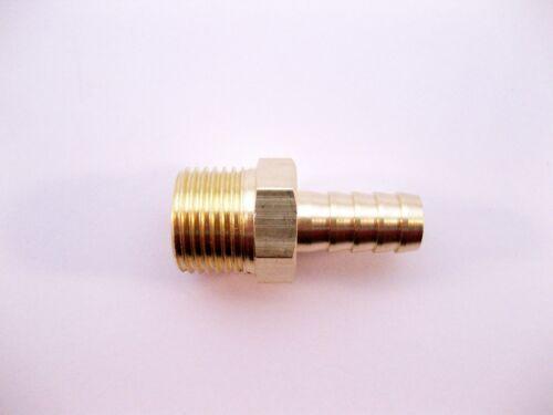 Messing Fitting Schlauchanschluss Schlauchstutzen Schlauchtülle M18x1,5 10mm