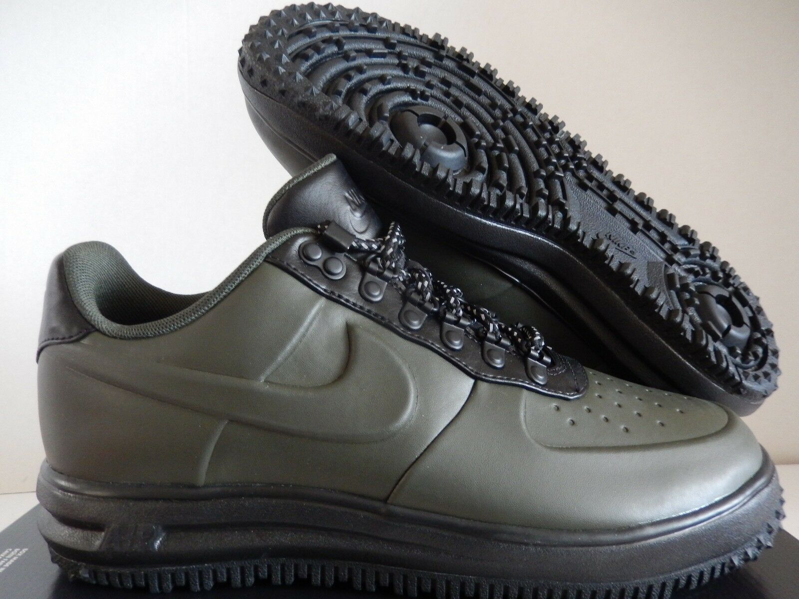 NIKE LUNAR FORCE 1 LF1 DUCKBOOT LOW SEQUOIA GREEN SZ 13 [AA1125-300]