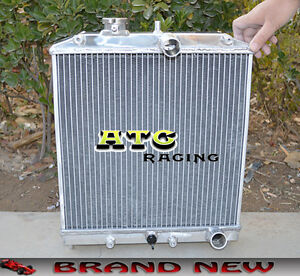 Good Image Is Loading 2 Core 42mm Aluminum Radiator For 1992 2000