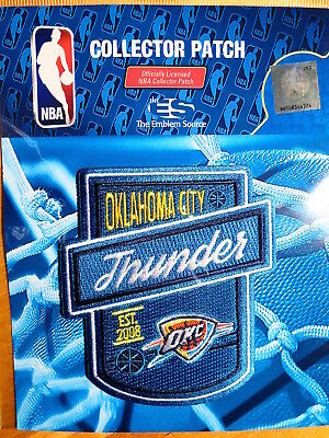 """Dedicated Licensed Nba Oklahoma City Thunder """"free Throw"""" Fan Iron Or Sew On Patch Nourishing The Kidneys Relieving Rheumatism Sporting Goods Memorabilia"""