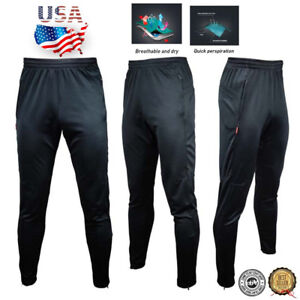 GYM-Men-039-s-Sport-Athletic-Soccer-Fitness-Training-Running-Casual-Pants-Trousers