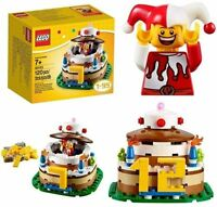 Lego 40153 Birthday Cake Table Decoration Ages 1-99 Brand