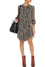 NWOT Isabel Marant Etoile Drewitt Dress SZ 40 $535 Prewitt Chiffon Floral Bird