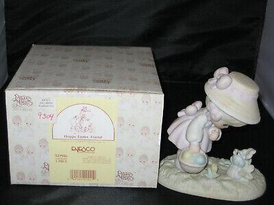 Precious Moments Figurine 521906 ln box Hoppy Easter Friend