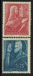Portugal-SC-691-and-692-Mint-Hinged-Hinge-Remnant-Minor-Toning-Lot-061917