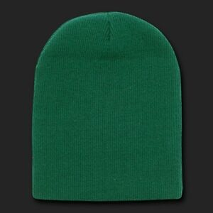 06837351266 Image is loading Forest-Green-Beanie-Hat-Skull-Snowboard-Winter-Warm-