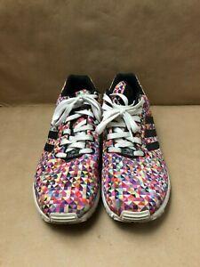 the latest 33ece 3ec6e Details about Adidas Originals ZX FLUX Multicolor Prism Rainbow Mens Size  US 10 UK 9.5 FR 44