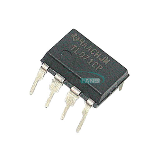 50PCS TL071CP TL071 DIP-8 Low Noise JFET Input Operational Amplifiers TI IC