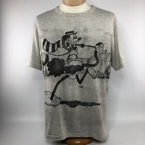 Disney-Classic-Collection-Gallopin-Gaucho-Shirt-Sz-Large-Gray-Short-Sleeve-Tee