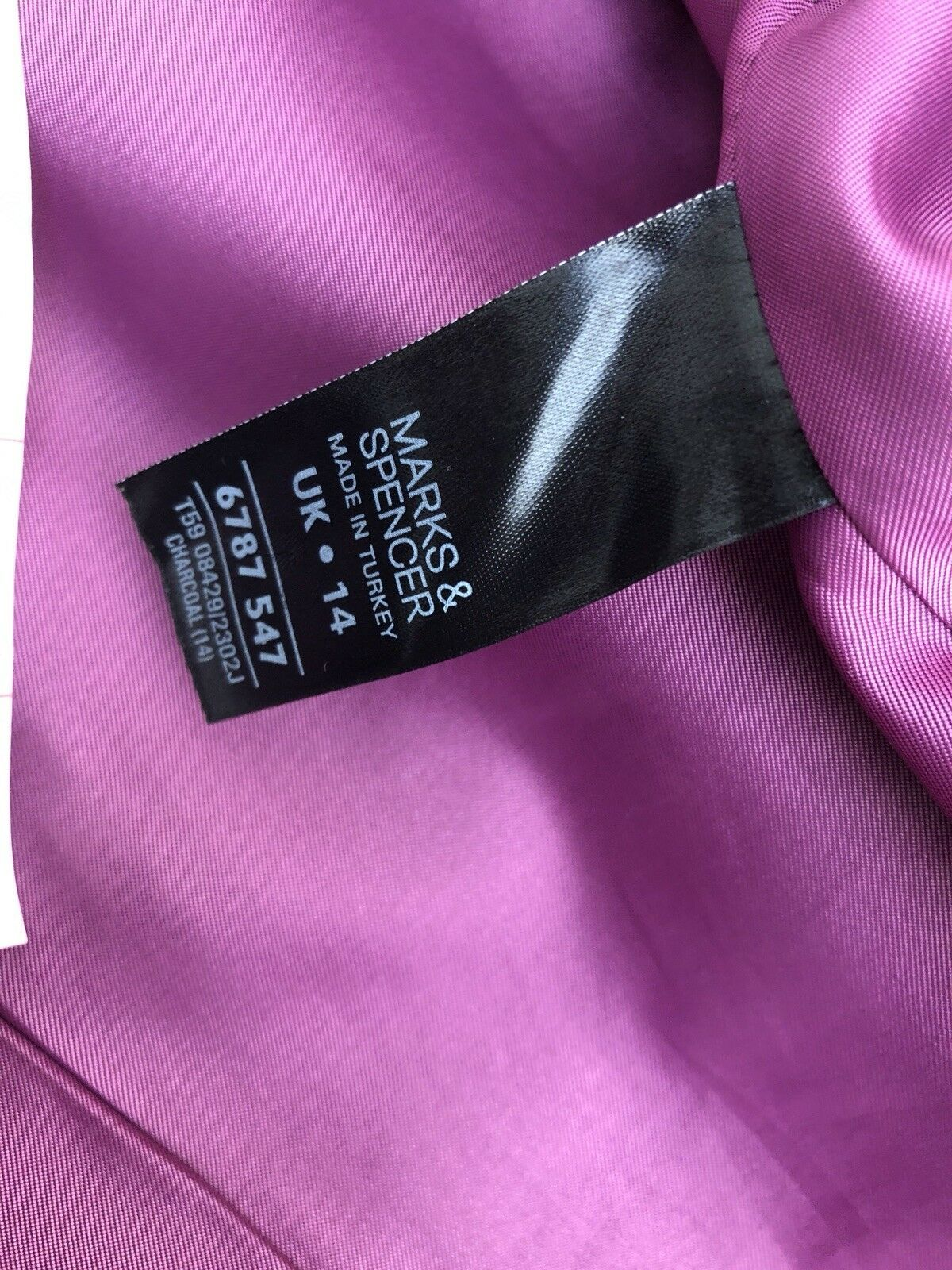 M&S Skirt Suit Size 14 & 12 Grey Grey Grey Formal Business Outfit Workwear 2 Piece c95696