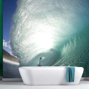 Surf Wave Wall Mural Ocean Seascape Photo Wallpaper Bedroom Bathroom