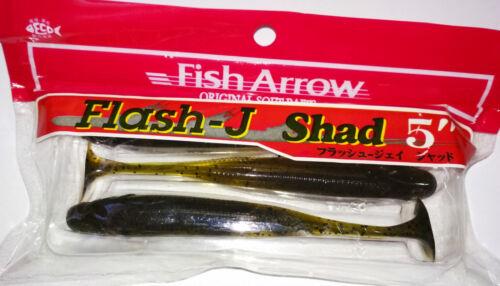Fish Arrow Flash-J Alse 12.7cm Farbe 02 Wassermelone//Silber