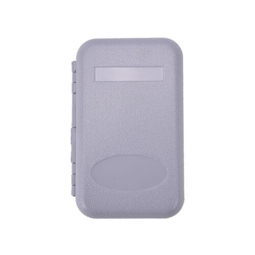 Box Foam Waterproof Plastic Bait Hook single Side Lure Storage Fly Fishing G Hu
