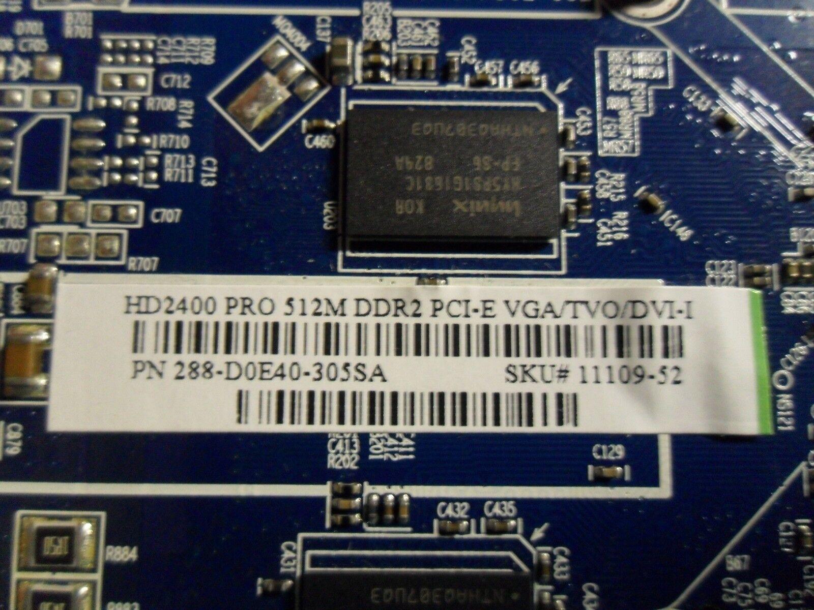 RADEON HD2400 PRO 512MB DDR2 PCI E VGA/TVO/DVI-I