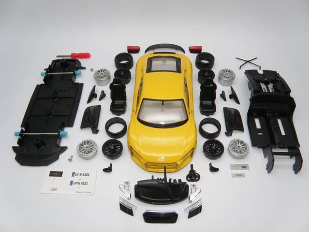 Genuine Audi R8 V10 Plus - Model Car Kit