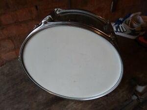 """Alerte Riks Chrome Snare Drum 14""""-afficher Le Titre D'origine"""
