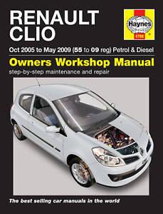 Haynes workshop service repair manual renault clio 05 09 ebay image is loading haynes workshop service repair manual renault clio 05 asfbconference2016 Image collections