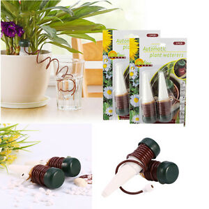 2pcs Automatic Water Drip Spike Flower Plant Indoor Sprinkler ... on indoor herb growing systems, indoor plant arrangements, indoor hydroponic plant systems, indoor garden lights, indoor fort kits, indoor hydroponic growing systems,