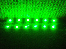 "SMART VOLVO LEXUS JAGUAR  GREEN 12"" 5050 SMD LED STRIPS TOTAL 24 LEDS"
