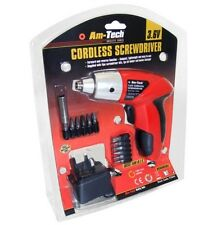 3.6V CORDLESS ELECTRIC RECHARGEABLE SCREWDRIVER + ACCESSORIES AND CHARGER DIY