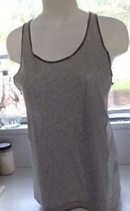 o para Nike gris 051 de tama Tech Nwt Camiseta tirantes mujer Bonded 726023 Lg blanco WXq87BFxHw