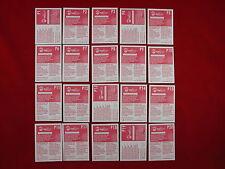 Panini Euro 2008 P1 - P20 Extra Sticker Schweiz Poster Swiss Edition EM 08