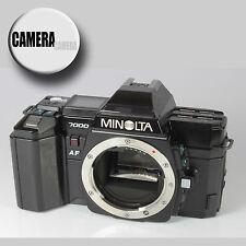 MINOLTA 7000 AF SLR Camera Body. Clean. Undamaged. Full Working Order. Tested.