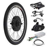Electric Bicycle Kit E Bike Motor Conversion 26 Rear Wheel 48v 1000w