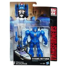 TRANSFORMERS GENERATIONS TITANS RETURN FRACAS AND & SCOURGE DELUXE CLASS NEW