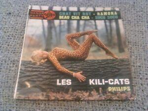 LES-KILI-CATS-CHAT-VIT-ROT-7-034-45-RPM-EP-RARE-ORIGINAL-PHILIPS-FRANCE-DANSE