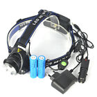Rechargeable 5000LM Zoomable XM-L XML T6 LED 18650 HeadLamp Torch HeadLight