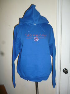 online store fcfea 063b9 Details about NCAA Red Oak for Ladies Boise State University Broncos  Juniors Hoodie NWT L