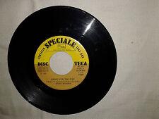 "Stevie Wonder / Marcel Dupont –Disco Vinile 45 Giri 7"" Edizione Promo JukeBox"