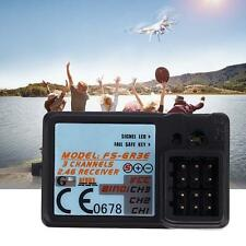 Waterproof Rc Receiver 6 Channel 2.4GHz For Flysky FSR6B Helicopters & Planes TD