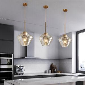 Bedroom Pendant Light Bar Glass Lamp Kitchen Pendant Lighting Led