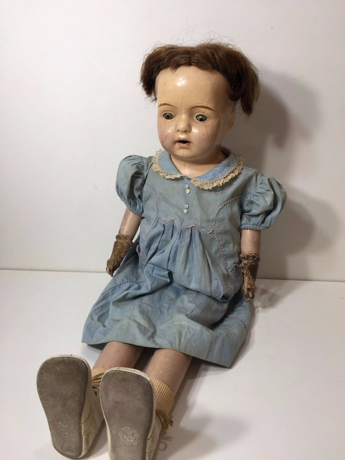Vintage Coleman Babs Walking Doll, 28