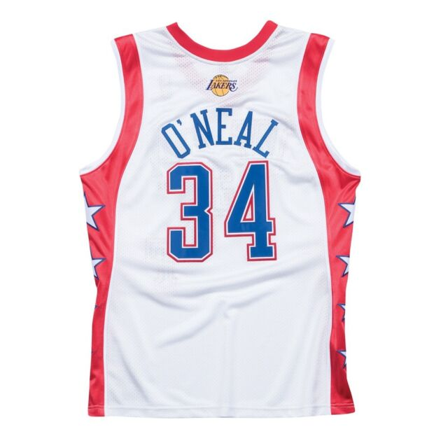 4a135587a Shaquille O Neal 2004 NBA All Star West Mitchell   Ness Authentic Jersey  Men s