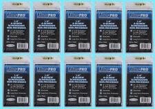 "10 Ultra Pro 1/4"" 4-SCREW SCREWDOWN NON RECESSED Standard Trading Card Holder"